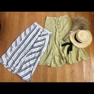 Free people midi skirt bundle